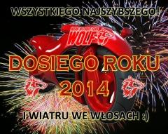 Najlepszości od Wolfmoto na Nowy 2014!